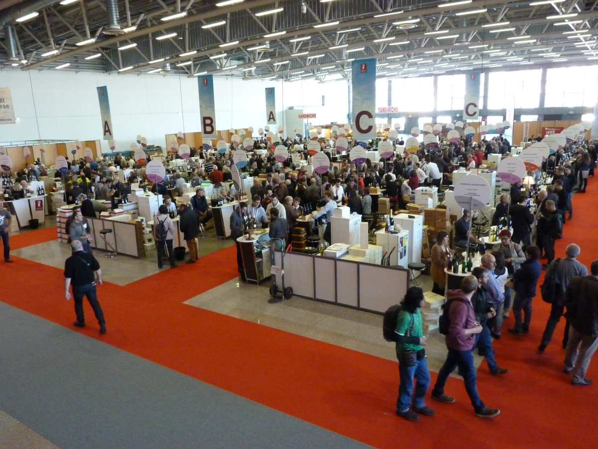 Visite au salon des vignerons ind pendants clermont for Salon des vins independants